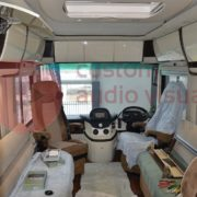 Concorde Motorhome install inside front