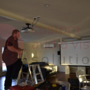 adjusting projector