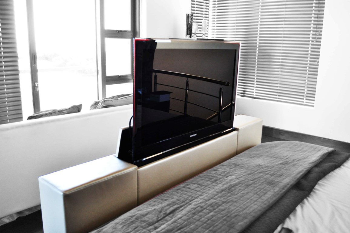 Tv and projector lifter custom av solutions for Lift furniture to second floor