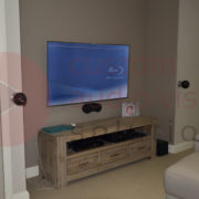 home theatre installed
