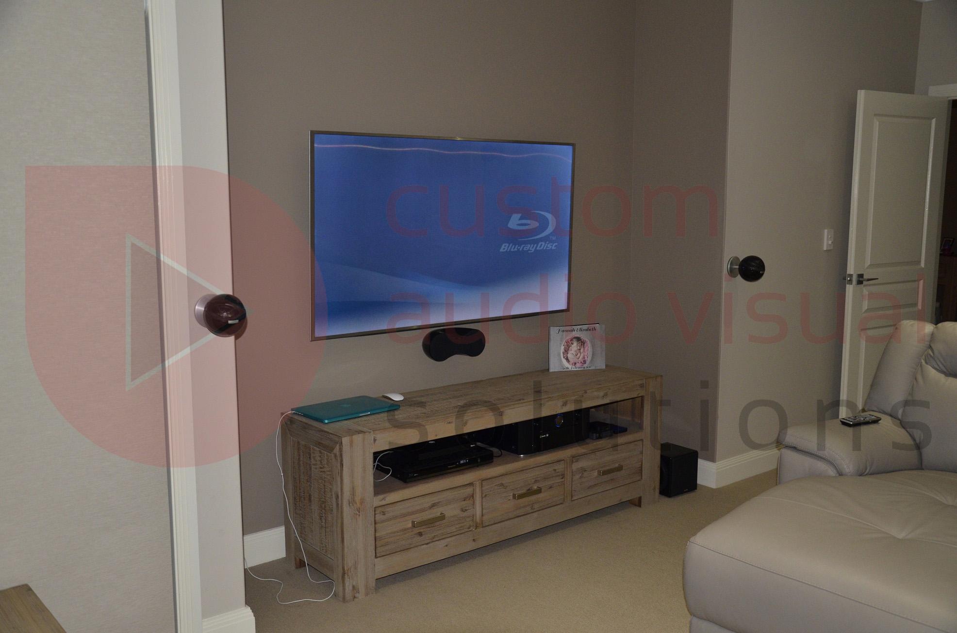 home theatre installation in singleton custom av solutions. Black Bedroom Furniture Sets. Home Design Ideas