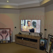 second home theatre completed