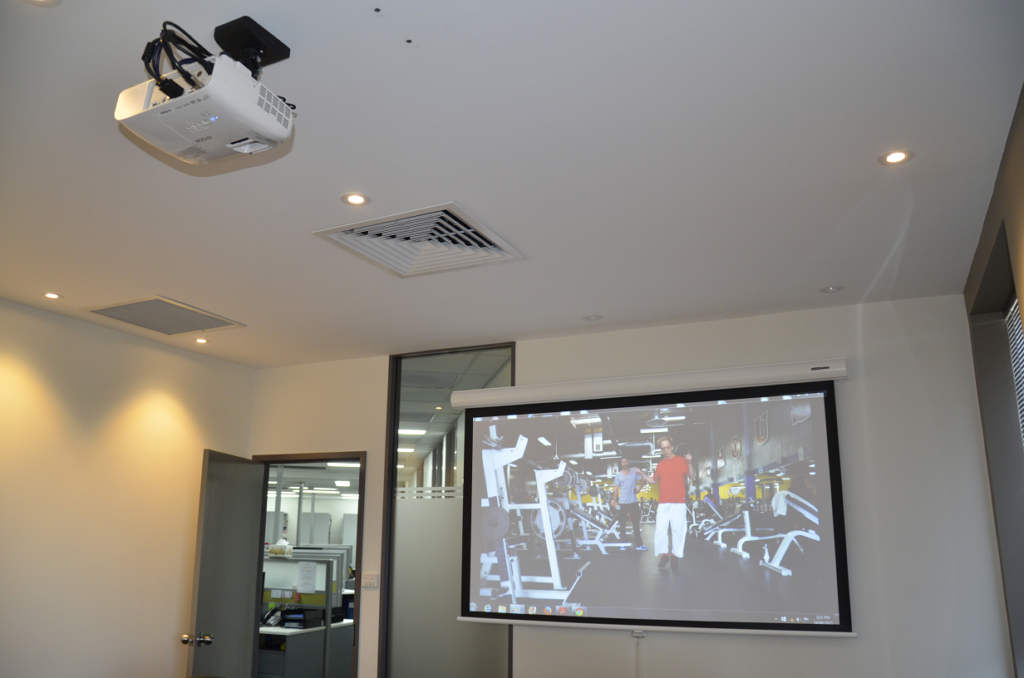 Projector after install
