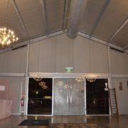 Tempus Two entrance doors soundbars