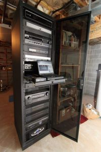 Home Automation Equipment Rack