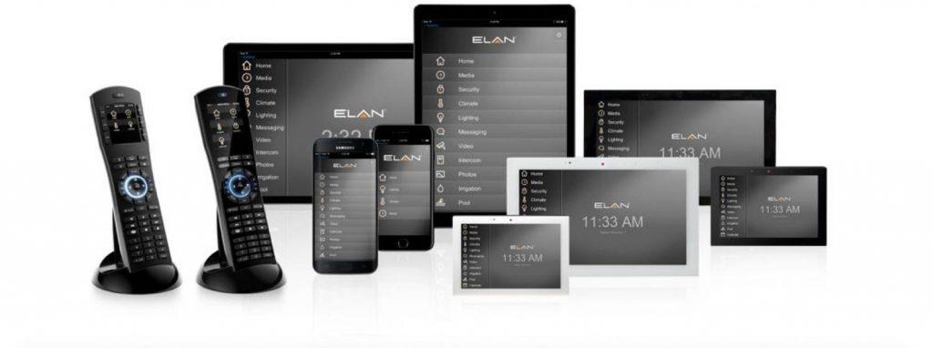 Elan automation user interface