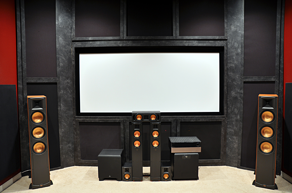 custom av solutions speakers too big. Black Bedroom Furniture Sets. Home Design Ideas