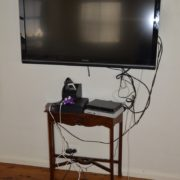 Wall mounted TV 1