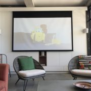 Newcastle - The Hill - home theatre installation