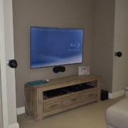 home theatre front