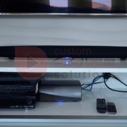 Heos soundbar and Heos Amp