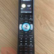remote control display temp
