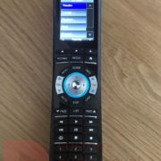 automation remote control, select a room