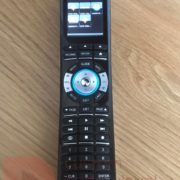 automation remote control, ready to turn on tv or foxtel or music